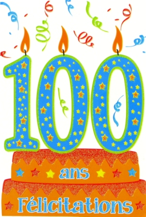 100 ans !!!