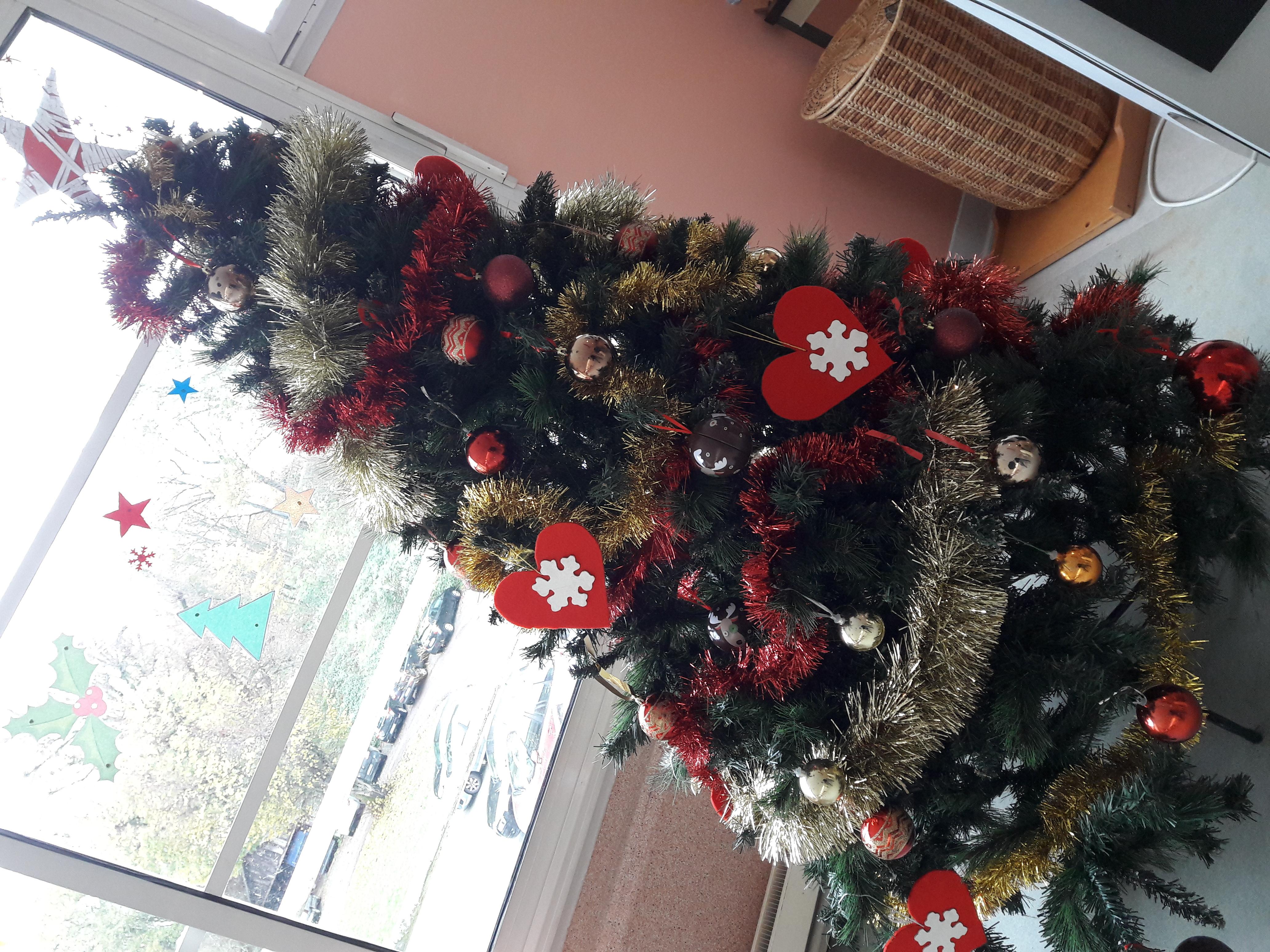 L'EHPAD, aux couleurs de Noël